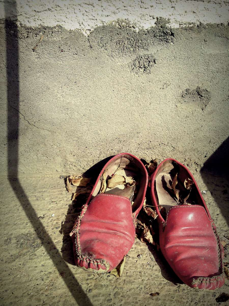 This shoes were been in Kansas