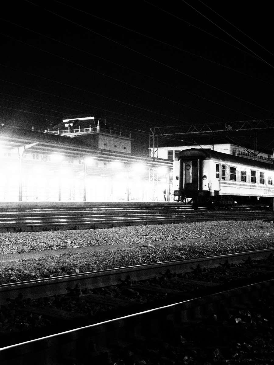 Train Station at midnight