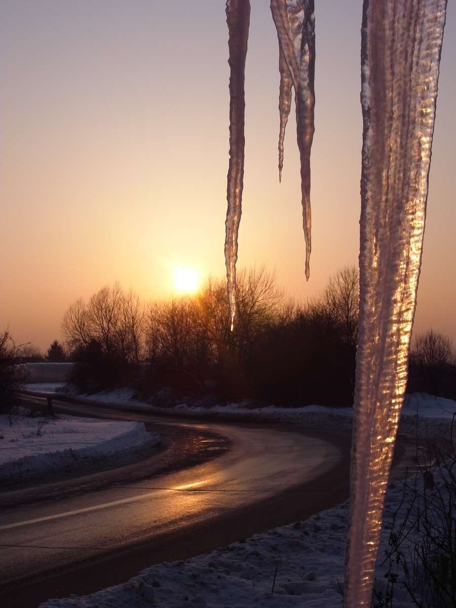 Winter Road and Ice