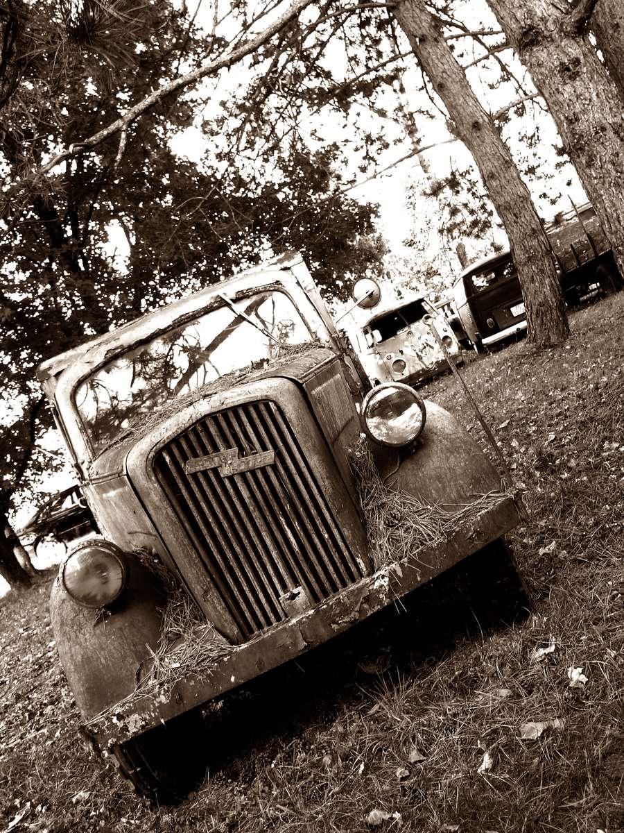 Old Trucks Vintage