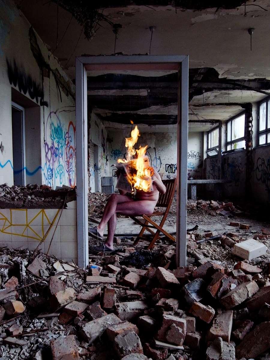 Burning news