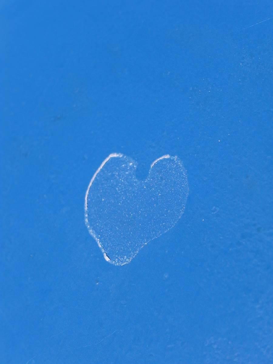 Heart from salt